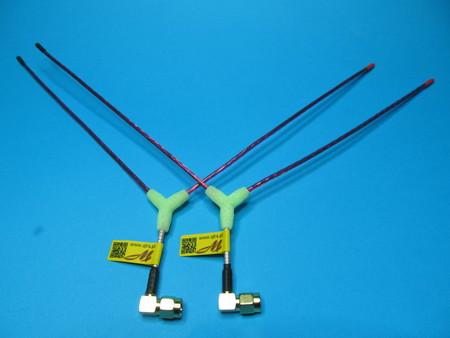 Antena Vee LRS eleres openlrs 433Mhz sma angle (2)