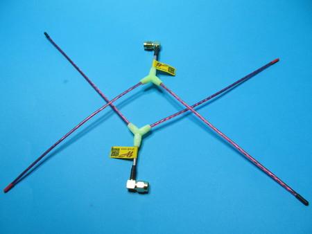 Antena Vee LRS eleres openlrs 433Mhz sma angle (4)