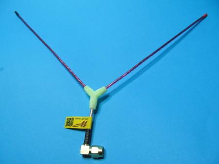 Antena Vee LRS eleres openlrs 433Mhz sma angle (1)