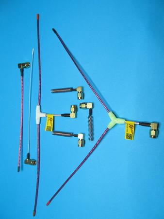 Micro antena LRS eleres, qlrs 433, 435 MHz RACER (5)