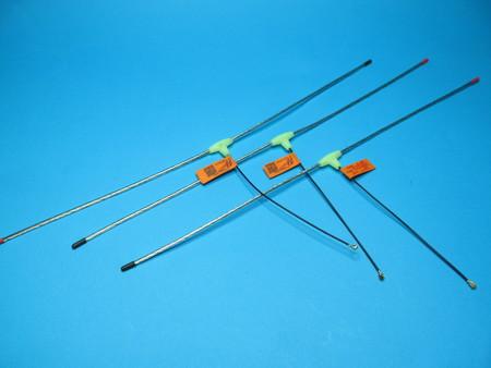 Micro antena LRS eleres 433Mhz dipol 2,3mm IPX ufl (2)