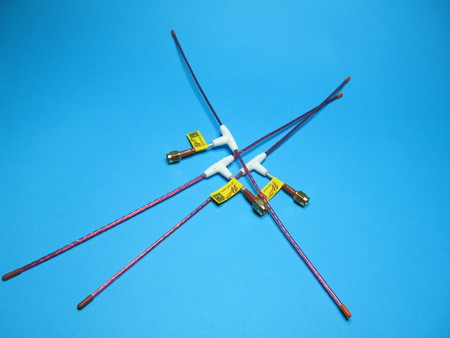 Antena QLRS 433.437 Mhz dipol elastyczna 2,3mm (2)