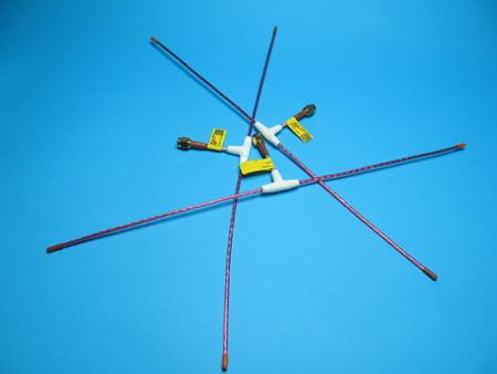 Antena QLRS 433.437 Mhz dipol elastyczna 2,3mm (4)