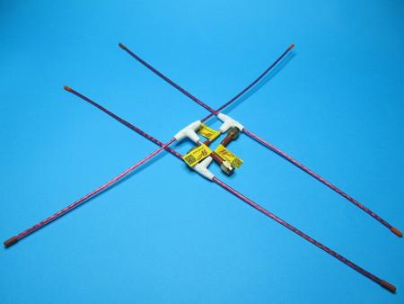 Antena QLRS 433.437 Mhz dipol elastyczna 2,3mm (6)