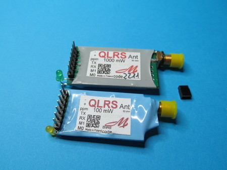 Kompletny zestaw systemu QLRS V3 z dwoma odbiornikami. (5)