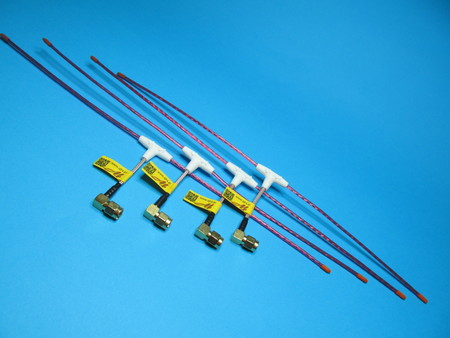 Antena LRS eleres MAX 433Mhz dipol wtyk kąt SMA male orange rx (1)