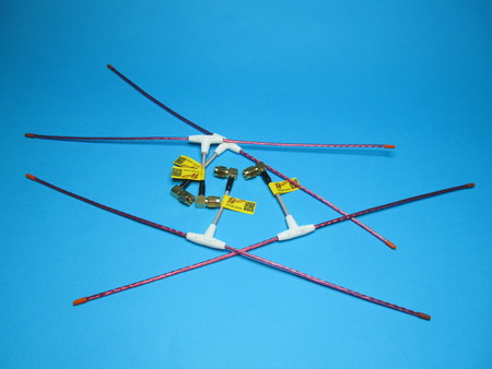 Antena LRS eleres MAX 433Mhz dipol wtyk kąt SMA male orange rx (4)