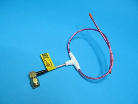 Antena LRS eleres MAX 433Mhz dipol wtyk kąt SMA male orange rx (2)